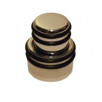 Hipshot Stacked O-Ring Knob - Chrome