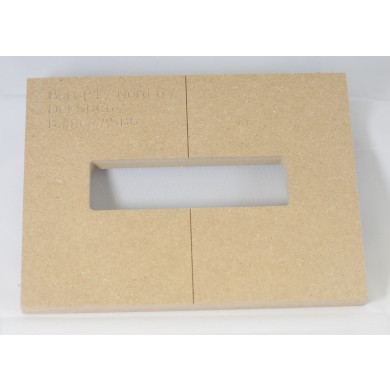 "Mike Plyler 1/2"" Thick MDF P4 Size Template"