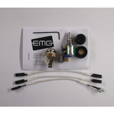 EMG 25k Volume/Tone Potentiometer Audio Taper 6/8mm Solid Shaft