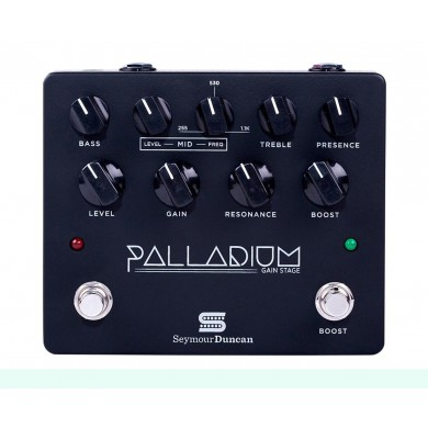 Seymour Duncan Palladium Gain Stage Pedal Black